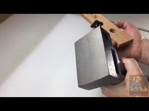 Clamp On Bench Pin Anvil with V-Slot Bench Pin