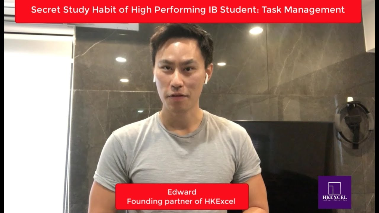 How HIGH PERFORMING IB students study at home to get a Level 7? (The IB Student Show)