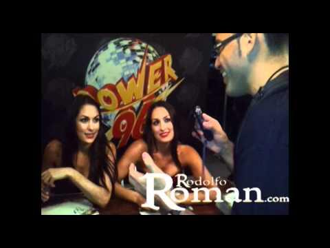 WWE WrestleMania Kick Off Party - Interview w/ Bella Twins & Rosa Mendez