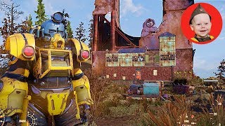 Fallout 76 Base Build: Monorail Elevator
