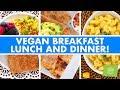Vegan Breakfast, Lunch & Dinner Easy Recipes!
