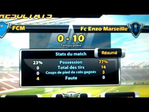 (Match 1) je gagne 10-0 sur Big win soccer