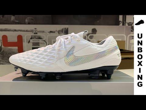 Correspondiente a El principio Decisión  Nike Tiempo Legend 8 Elite SG-PRO Nouveau - White/Wolf Grey - YouTube