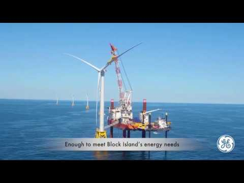 GE equipped Deepwater Wind's Block Island, America's first O