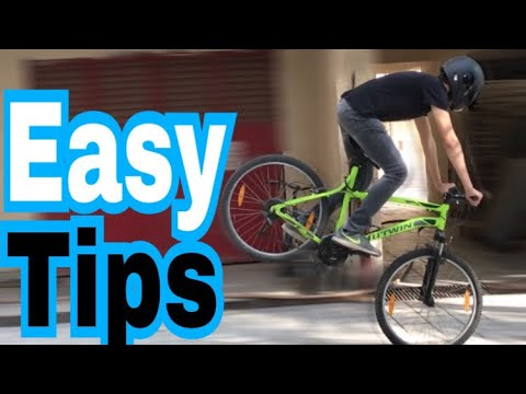 How to Stoppie a Mountain Bike