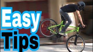How to Stoppie a Mountain Bike