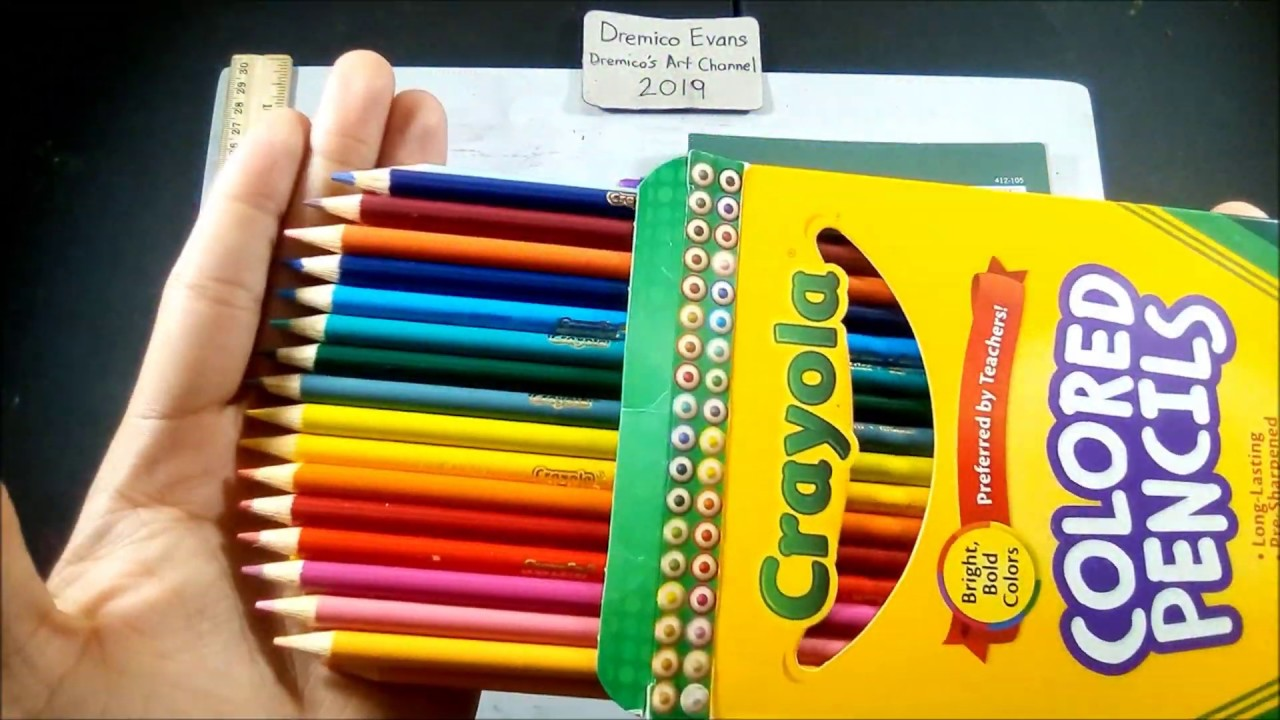 Review Crayola 36 Colored Pencils Simple Review (no ...