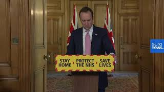 Coronavirus: UK government gives briefing on COVID-19