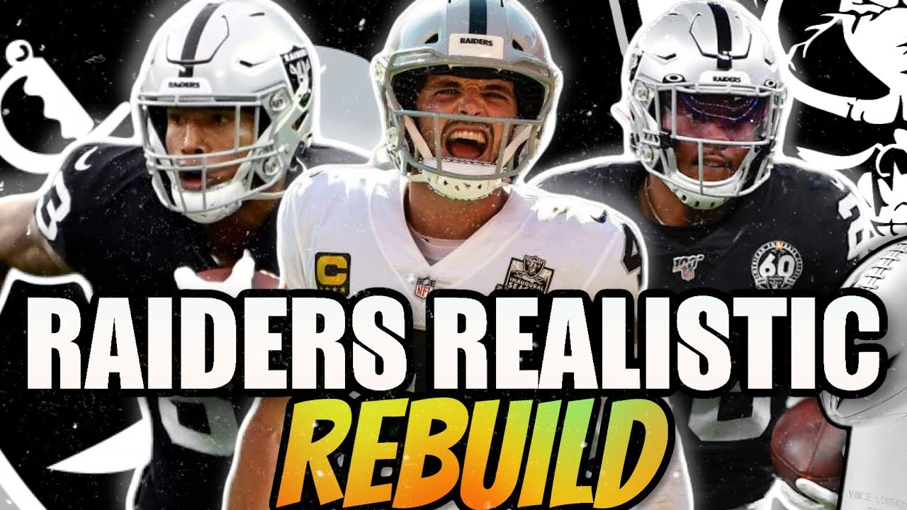Download LAS VEGAS RAIDERS REALISTIC REBUILD! | FIRST WITH NEW SCOUTING UPDATE! - Madden 22 Franchise