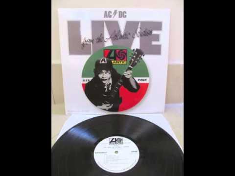 ACDC  Live From The Atlantic Studios 1977 Full Album Cover