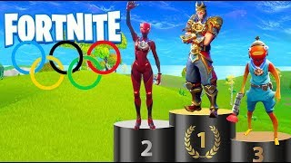 *NEW* OLYMPICS in Fortnite Creative! w/ Alkan, Gejmr