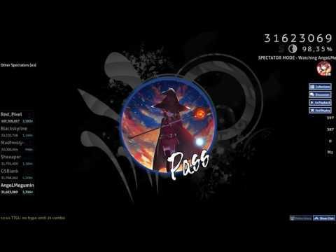 AngeLMegumin | DragonForce - Symphony of the Night [Legend] HR 97.37% 2232/2383 499pp