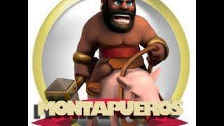 Ataque clash of clans Ataque con montapuercos 100%