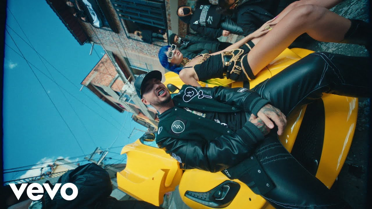 Sech Daddy Yankee J Balvin  Sal y Perrea Remix Video Oficial