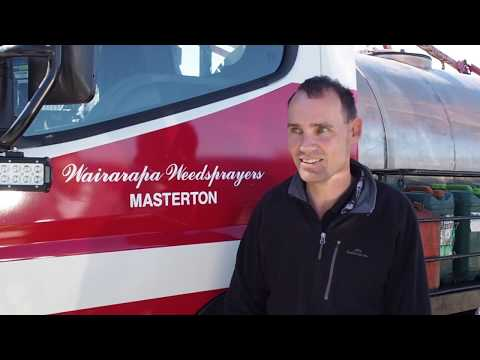 Customer Story: Clinton Carroll, Managing Director, Wairarapa Weedsprayers, Masterton NZ