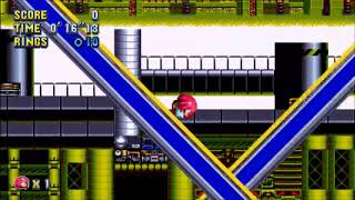 "Sonic Mania (PC) - Chemical Plant 1 Knuckles: 34""62 (Speed Run)"