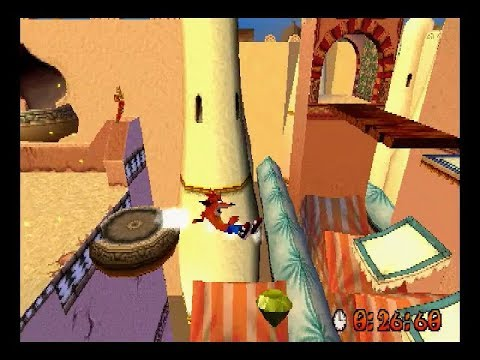 [TAS] (with Commentary) Crash Bandicoot 3: Warped 105% in 1: