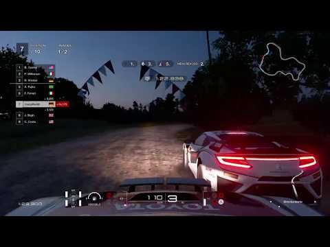 Gran Turismo Sport Colorado Springs Nachtrennen Missionen Stufe 4 PS4