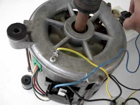 C 243 Mo Conectar Un Motor De Lavadora Ii Youtube