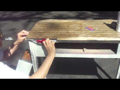 restaurant chair repair swing price in bangladesh how to decoupage furniture a table - youtube
