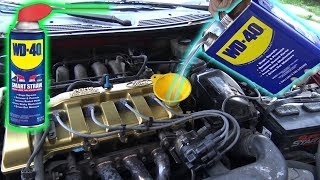 Can You Use WD-40 as ENGINE OIL?