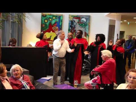 Alan Singing With The Revelation Gospel Singers