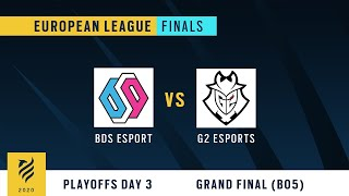 BDS Esport vs. G2 Esports   R6 European League Finals 2020 - GRAND FINAL