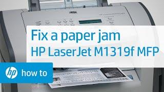 Fixing Paper Jam