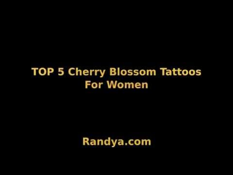 Top 5 Cherry Blossom Tattoos