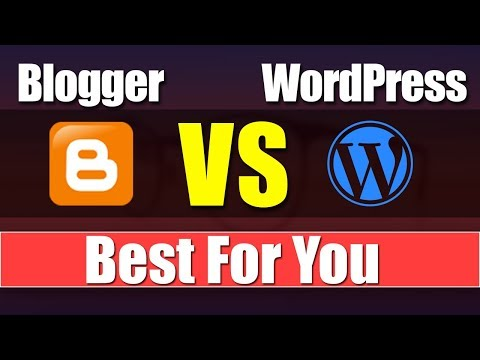 Difference Between Blogger And WordPress || Select Best For You || [desimesikho] 2019 thumbnail