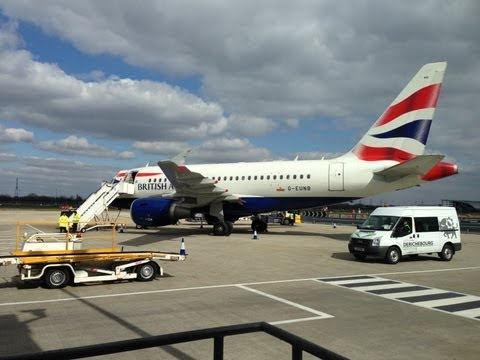 Business Class London City to New York on British Airways
