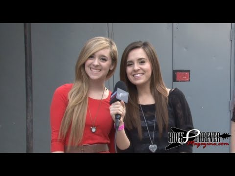 Megan & Liz Interview with Rock Forever Magazine
