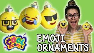 DIY Christmas Emojis Ornaments! Cool School Christmas Crafts for Kids | Arts and Crafts