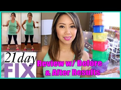 21 Day Fix Review w/Before & After Results   TwilightChic143