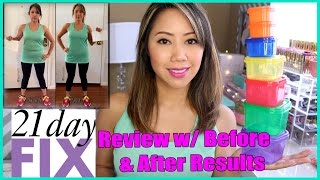 21 Day Fix Review w/Before & After Results | TwilightChic143
