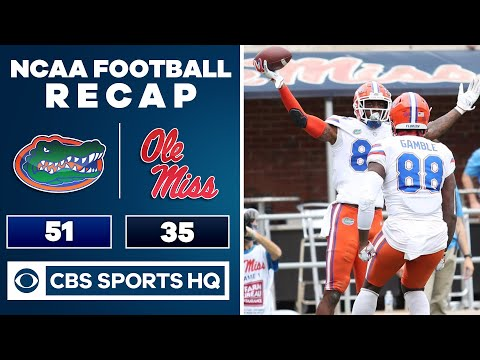 #5 Florida vs Ole Miss Recap: Gators beat The Rebels 51-35 in Kiffin's debut | CBS Sports HQ