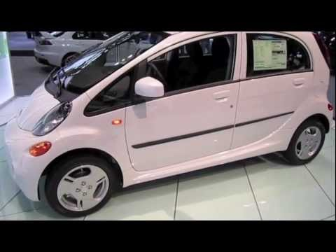 2012 MITSUBISHI i MiEV 100% Electric first look by Automotive Review