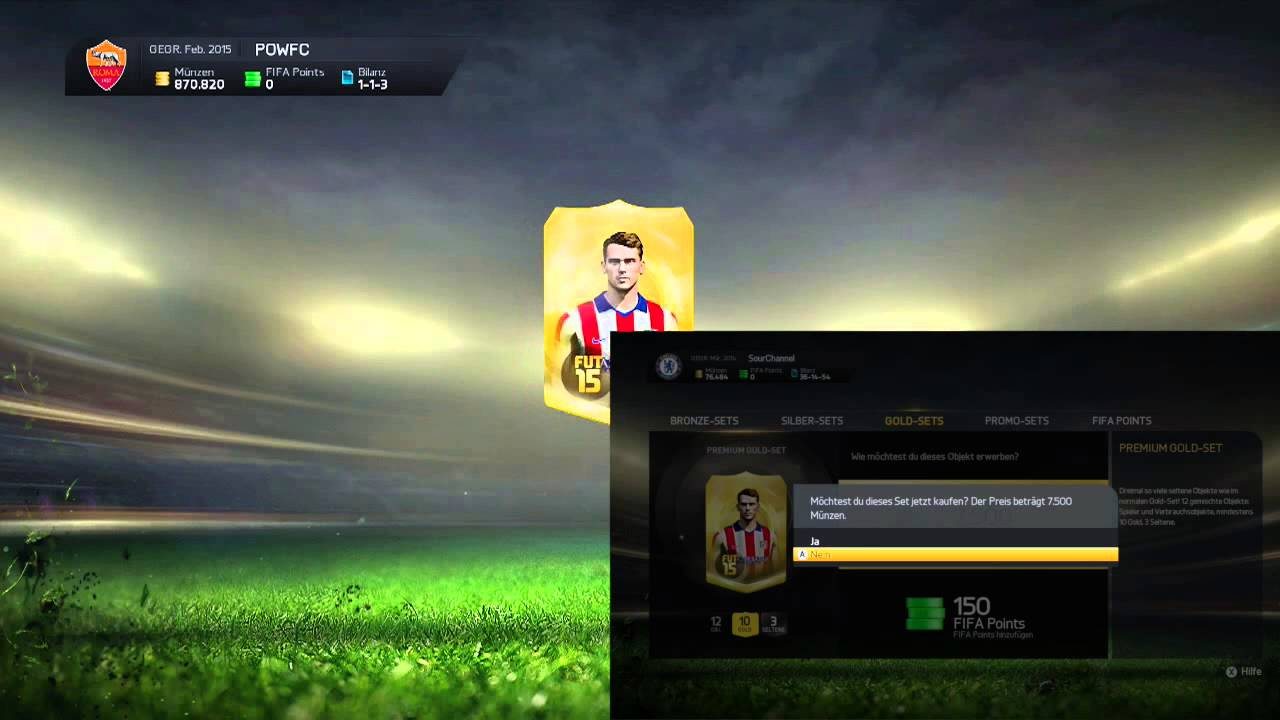 Fifa 15 Dual Pack Opening Ft Sour Channel Youtube