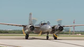 1st Official Flight of Special Kay the only flying A-26A Counter Invader