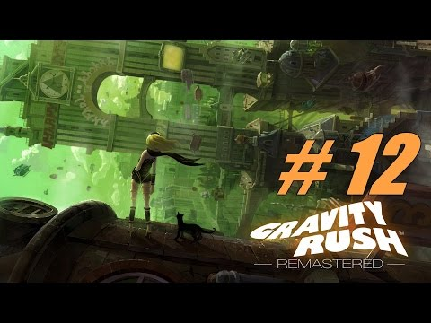 [PS4] Gravity Rush Remastered - Collecting more gems [Part 12]【No Commentary】