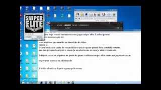 Tutorial Sniper Elite V2 Pirata Online