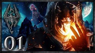 THE ELDER SCROLLS V: SKYRIM #001 | Die Geburt von Lord Whiskas | Skyrim 24 Stunden-Event