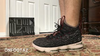 Nike Lebron 15 XV Pride Of Ohio On Foot