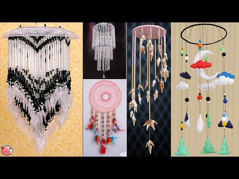 5 Beautiful DIY Wall Hangings Craft Ideas at Home !!!
