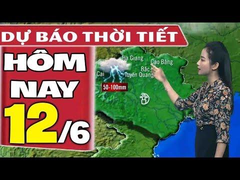 Dự báo thời tiết hôm nay mới nhất ngày 12/6 | Dự báo thời tiết 3 ngày tới