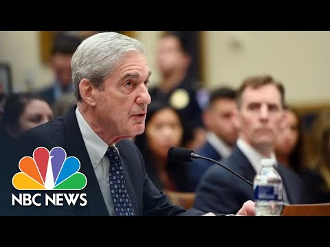 Robert Mueller Claims Donald Trump Asked For Sessions To 'Un-Recuse' Himself | NBC News