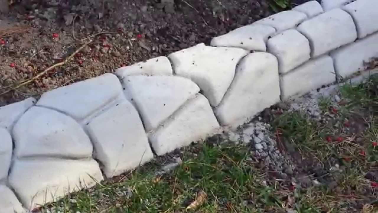 Calcestruzzo Stampato Fai Da Te : Muro stampato fai da te youtube