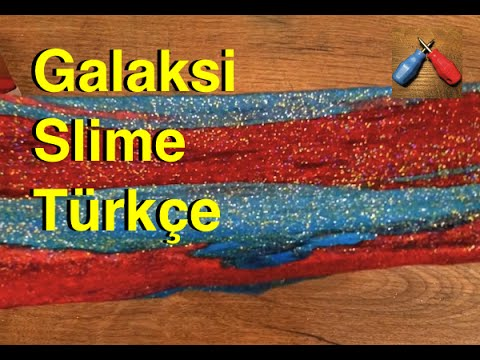 74.video - Galaxy Slime Nasıl Yapılır ? Türkçe