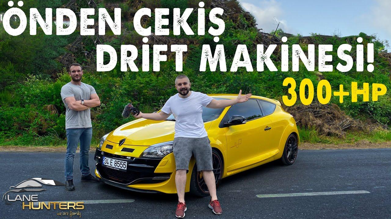 300+ Beygir Megane RS Trophy! | Önden Çeker Drift Makinası!