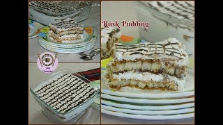 Rusk Pudding | Instant Tiramisu | Quick Dessert - By Food Connection